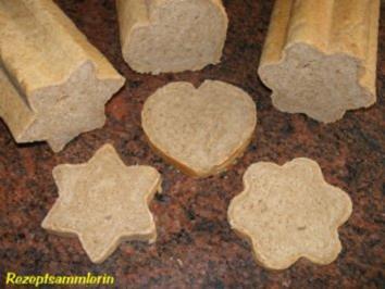 Brot: VOLLKORNWEISSBROTE .... in Form gebracht - Rezept