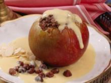 Bratäpfel mit Vanillesoße - Rezept