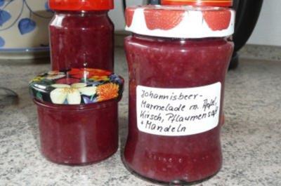 Marmelade: mit Apfel-Kirsch-Pflaumensaft - Rezept