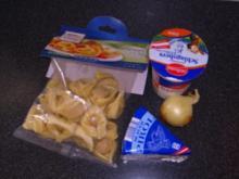 Tortellini mit Gorgonzolasauce - Rezept