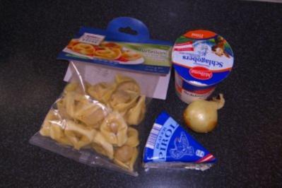 Rezept: Tortellini mit Gorgonzolasauce