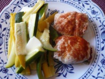 Rezept: Hähnchenschnitzel nach Saltimbocca-Art