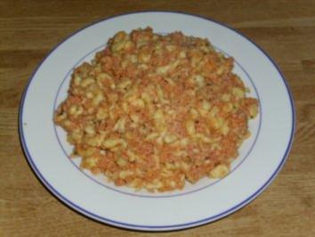 Fleischwurst-Spätzle - Rezept