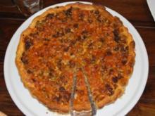 Hackfleisch-Oliven-Tarte - Rezept
