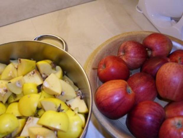 Quitten-Apfel-Gelee - Rezept