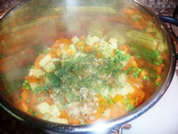 Herzhafter Gemüse-Kartoffel-Stampf - Rezept - Bild Nr. 3