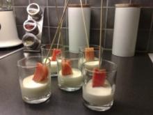 Lachsspiesse in Sauce - Rezept