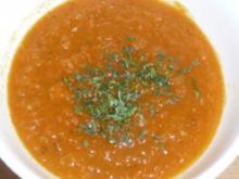 Süppchen: Karottenmus - Rezept