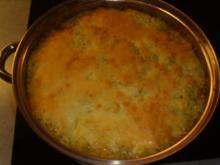 Aufläufe: Wirsingauflauf mit Kartoffelkruste - Rezept