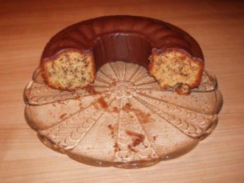 Schoko-Nuss-Kuchen mit Marzipan - Rezept