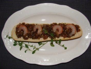 Fisch : -Thunfisch Tartar mit Garnelen- - Rezept