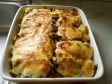 mediterraner Kartoffelauflauf mit Bild - Rezept