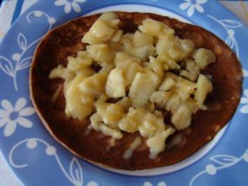 Buttermilch - Schoko - Pfannkuchen mit Vollkornmehl - Rezept