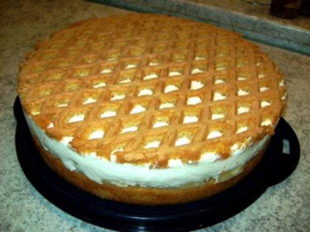 Ananas-Joghurt-Torte - Rezept