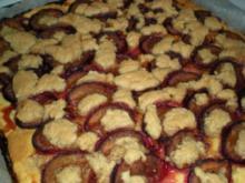 Kuchen: Zwetschgenkuchen - mein Erster! - Rezept