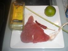 Thunfisch mit Zitronengras - Rezept