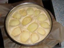 Apfelkuchen mit Zitrone und Joghurt - Rezept