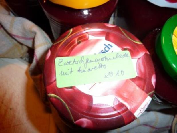 Marmelade: Zwetschgenmarmelade mit Amaretto - Rezept - Bild Nr. 4