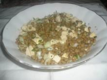 DIABETIKER Linsen- Hühnersalat - Rezept
