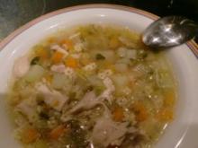 Suppe: Hühnerbrühe - Rezept