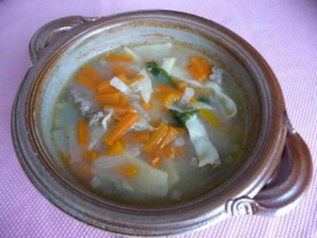 Suppen & Eintöpfe : Maultaschen-Vorsuppe - Rezept