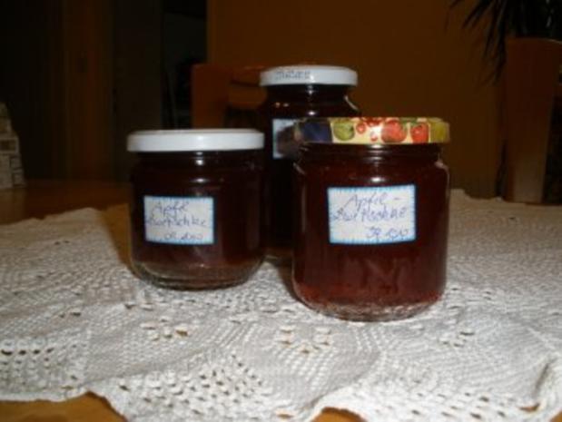 Marmeladen/Geeles - Apfel - Zwetschken - Marmelade - Rezept - Bild Nr. 2