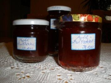 Marmeladen/Geeles - Apfel - Zwetschken - Marmelade - Rezept