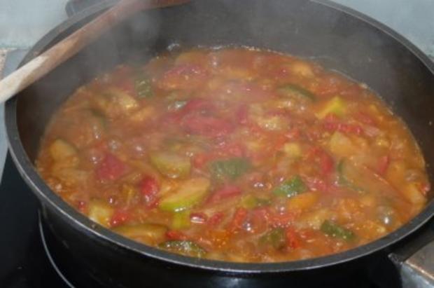 Pfannengericht: Gemüse mit Gabelspaghetti - Rezept - Bild Nr. 2