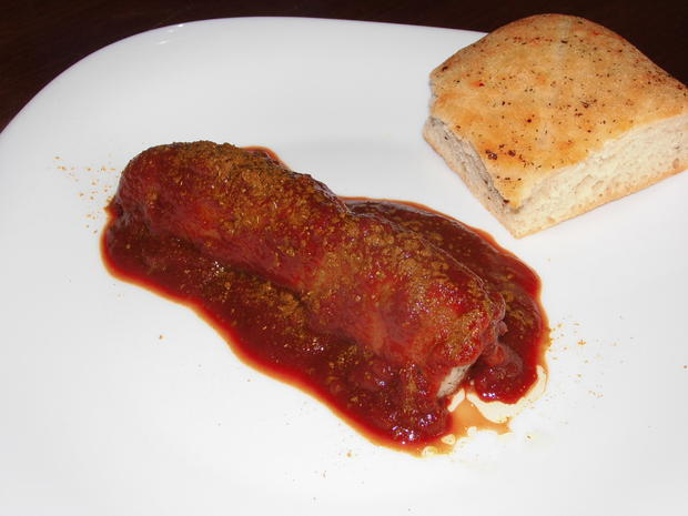 Currywurst in scharfer exotischer Sauce - Rezept - Bild Nr. 2