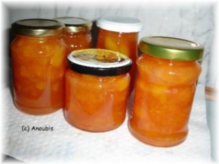 Brotaufstrich - Orange-Campari- Marmelade - Rezept