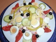 Italienischer Salatteller - Rezept