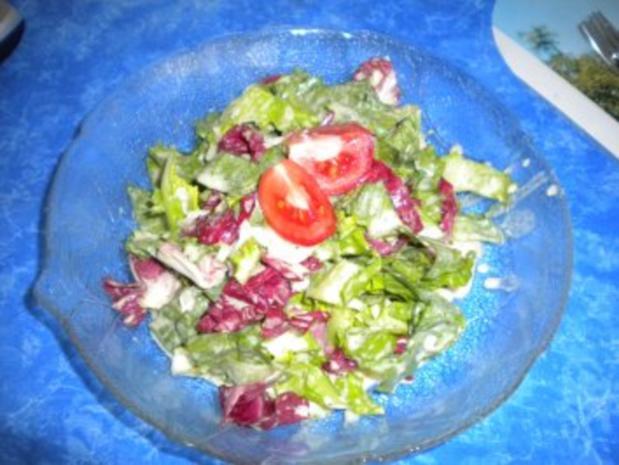smile-Rösti mit Bratwurst und Salat - Rezept - Bild Nr. 2