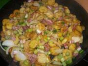 Bratkartoffeln und riesen Hunger - Rezept