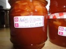 Apfel-Pflaumen-Marmelade - Rezept