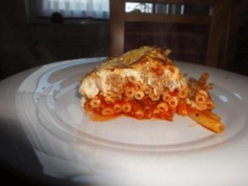 Makkaroni-Lasagne - Rezept