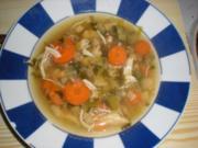 Suppen: einfache Geflügelbrühe - Rezept
