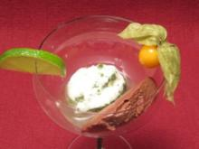 Limetten-Minz-Sorbet - Rezept