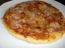 Hefe:   MINI - PIZZEN - Rezept