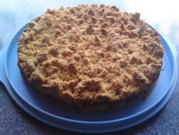 Apfelkuchen mit Mandelstreusel - Rezept