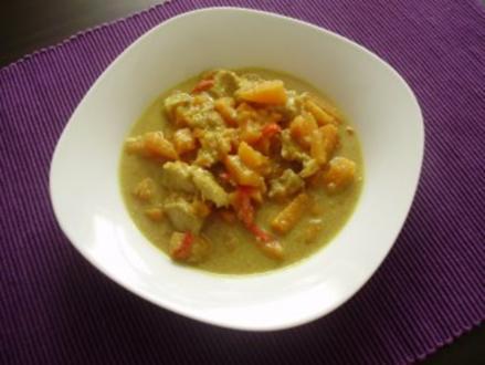 Süßkartoffel - Curry - Rezept