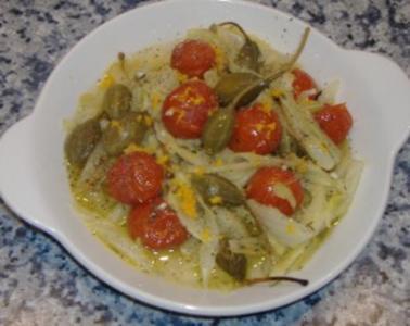 Lauwarmer Fenchelsalat - Rezept