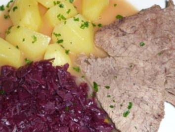 """Rinderschmorbraten nach Art des Hauses """"Nadine"""" - Rezept"""