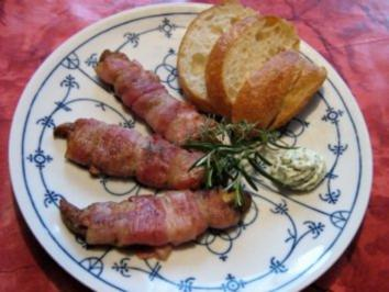 Steinpilz im Baconmantel - Rezept