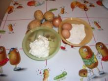 Kartoffel - Quarkpuffer - Rezept