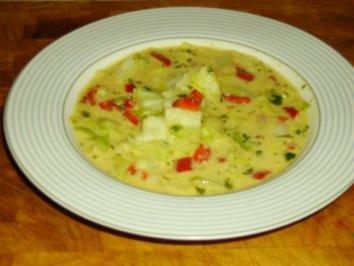 Spitzkohl-Joghurt-Suppe - Rezept