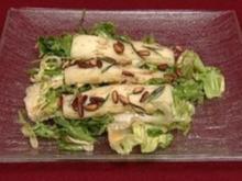 Ziegenkäse auf Salat mit Honigdressing (Peter Großmann) - Rezept