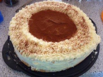 Torte - Rundes Tiramisu - Rezept