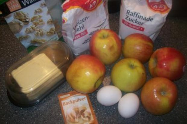 Apfelkuchen - Apfel-Bisquit  ;-) ♥ ♥ ♥ - Rezept - Bild Nr. 2