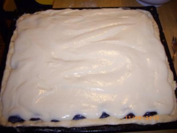 Pflaumenkuchen mit Puddingdecke und Hefeteigboden (nach Mama's Rezept !!!) - Rezept - Bild Nr. 7