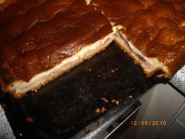 Pflaumenkuchen mit Puddingdecke und Hefeteigboden (nach Mama's Rezept !!!) - Rezept - Bild Nr. 8